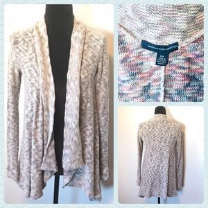 American Eagle Light Knit Waterfall Cardigan